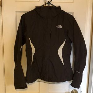 Northface HyVent Shell Brown and Cream (S)